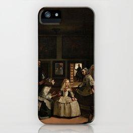 Las Meninas -  Diego Velázquez iPhone Case