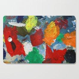 The Artist's Palette Cutting Board