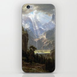 Albert Bierstadt Rocky Mountains, Lander's Peak iPhone Skin
