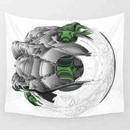 Symbiotic Masking Wall Tapestry
