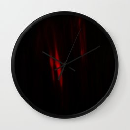 Red Doorway Wall Clock