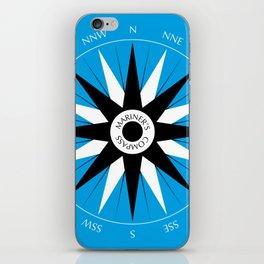 Mariner's Compass iPhone Skin