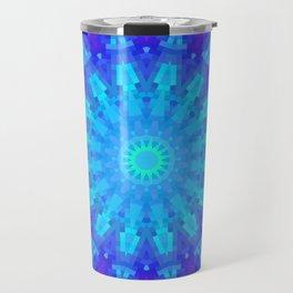 Violet Mandala Mosaic Travel Mug