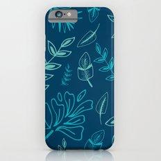 Tropical Leafs Slim Case iPhone 6s