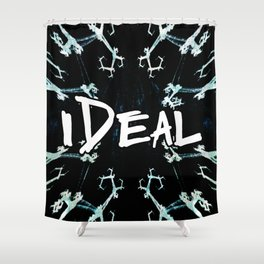 iDeal - Geometric Confusion Shower Curtain