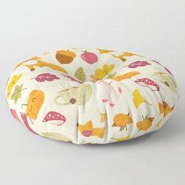Cozy Fall - Bright Version - Pattern Floor Pillow