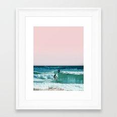 Surfing USA Framed Art Print