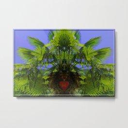 Heart of palm ... Metal Print