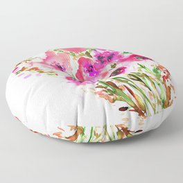 Bouquet Pink Floor Pillow