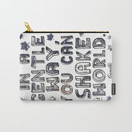 You Can Shake the World II Carry-All Pouch