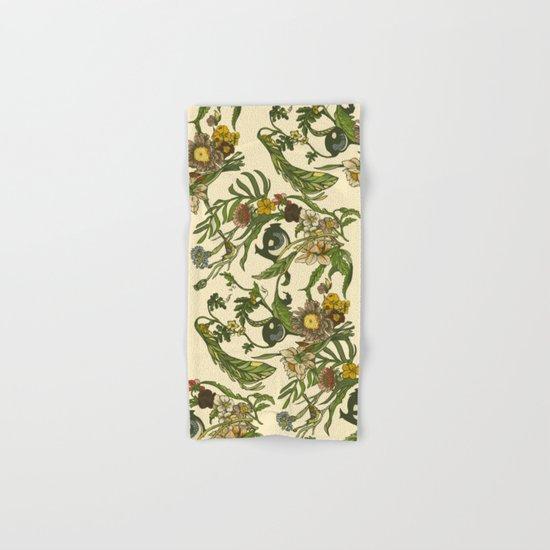 Botanical Pug Hand & Bath Towel