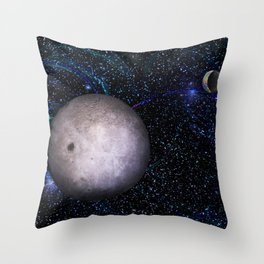 View From The Dark Side Throw Pillow