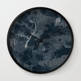 Treasure Chambers at Night Wall Clock