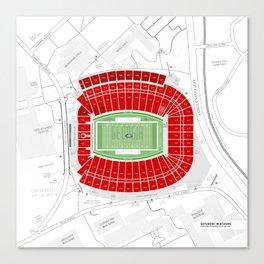 Stadium Traditions: Saturday in Athens (Sanford Stadium) Canvas Print
