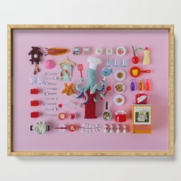 Miniature Collage: Cooking Serving Tray