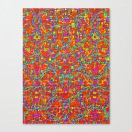 Verre Colore Pattern Canvas Print