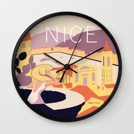 Nice – Sunset Version Wall Clock