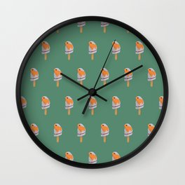 natural flavors Wall Clock