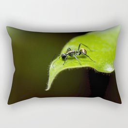 Golden-tailed Spiny Ant Rectangular Pillow