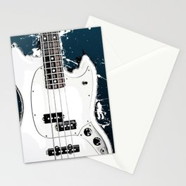 Guitar music art #guitar #music Stationery Cards