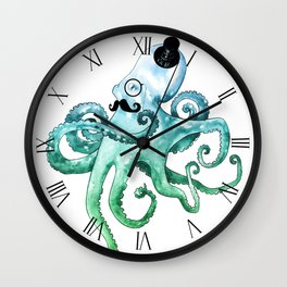 Dapper Octopus Wall Clock