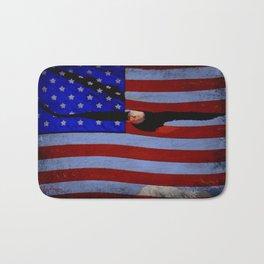 America!! Bath Mat