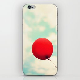 Nowhere To Go But Up iPhone Skin