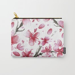 Cherry Blossoms #society6 #buyart Carry-All Pouch