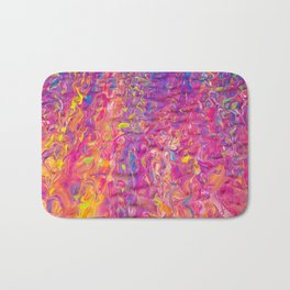 Rainbow Ripple Bath Mat