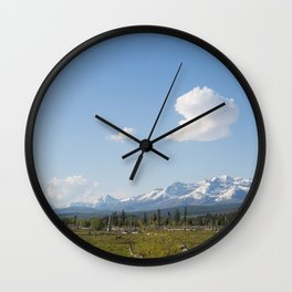 Barren and Few Wall Clock