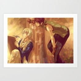 Vivo-brothers Art Print