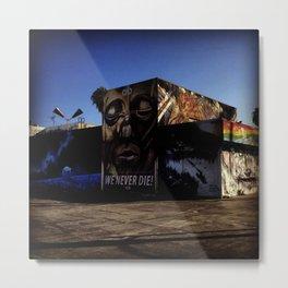 Culver City Graffiti Metal Print