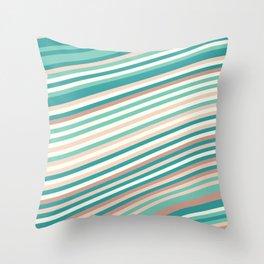 Calm Summer Sea 2 Throw Pillow