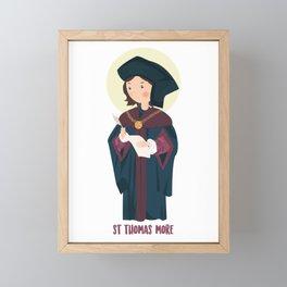 Saint Thomas More Framed Mini Art Print