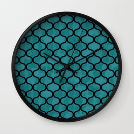 Watercolor Lovely Pattern VVXIV Wall Clock
