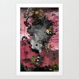 """Minga """"Untitled"""" Art Print"""
