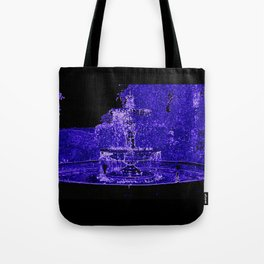 Fairy Fountain Tote Bag