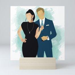 Kiss the Sky Mini Art Print