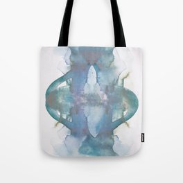 Purple Pond Reflection Tote Bag