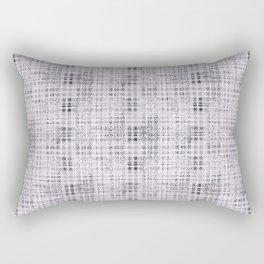 Classical gray cell. Rectangular Pillow