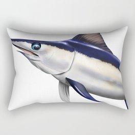 Swordfish On The Hunt Rectangular Pillow