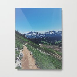 Paradise, Mount Rainier Metal Print