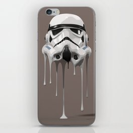 Stormtrooper Melting iPhone Skin