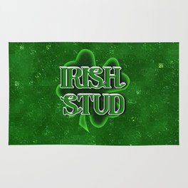 Irish Stud - St Patrick's Day Shamrock Rug