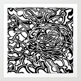 Inner depth Art Print