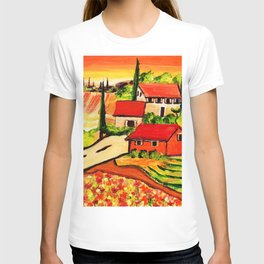 Road to Tuscany T-shirt
