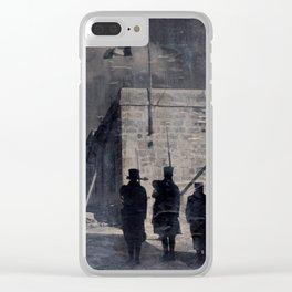 Armistice lost Clear iPhone Case