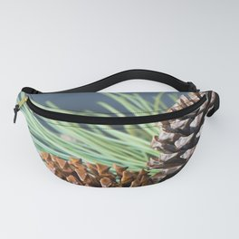 Pinecones and needles Fanny Pack