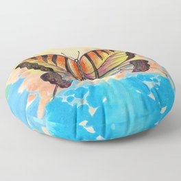 Simply Butterfly Floor Pillow
