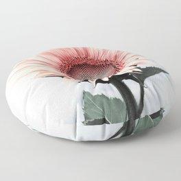 Pink Sunflower Floor Pillow